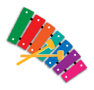 xylophone icon for Music activities