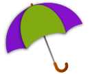 umbrella icon for Rainy Day activities