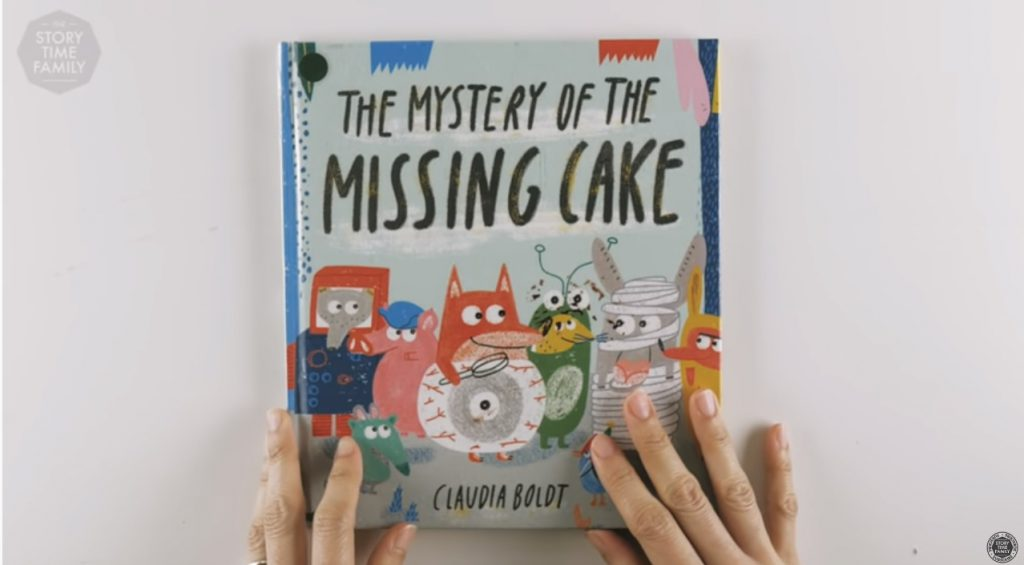 screen shot of the missing cake book